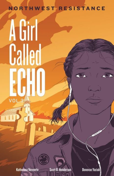 The cover for Echo vol. 3