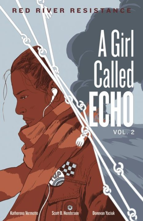 The cover for Echo vol. 2