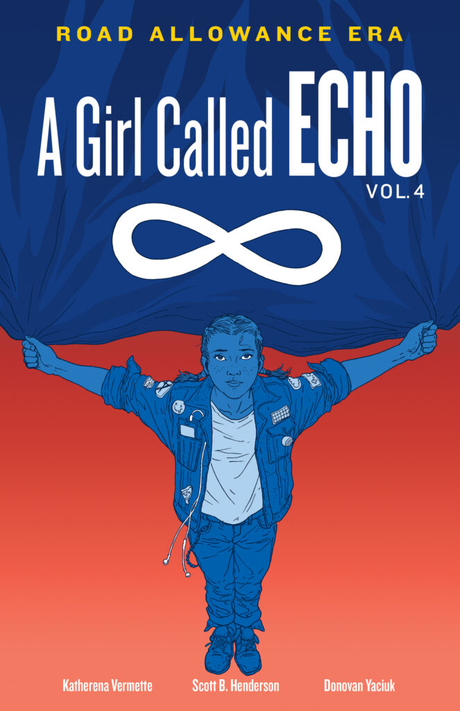 The cover of Katherena Vermette's book A Girl Called Echo