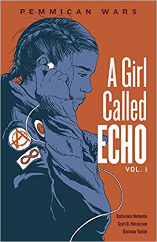 The cover for Echo vol. 1
