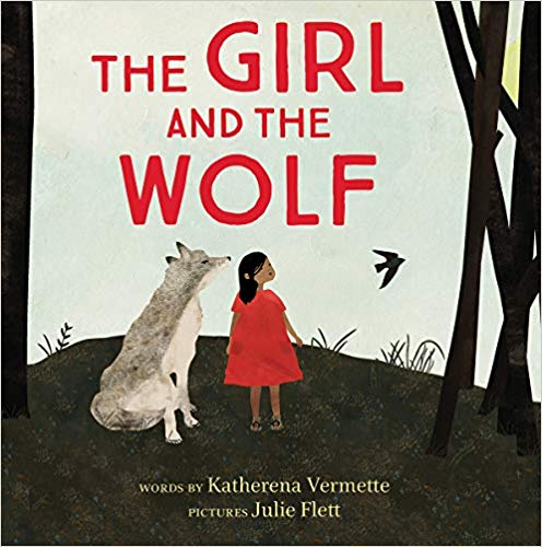 The book cover for The Girl and the Wolf by Katherena Vermette.