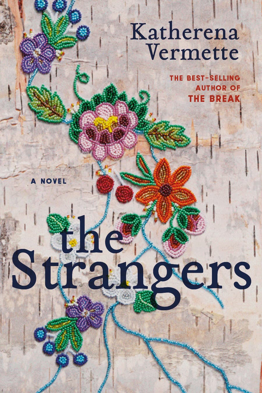The cover of Katherena Vermette's book the Strangers
